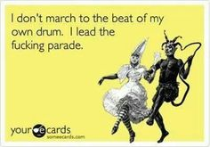 Lead the parade