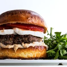 At Rioja, in Denver, half of the bacon is replaced with ground fatback, a step that makes this excellent burger even better.