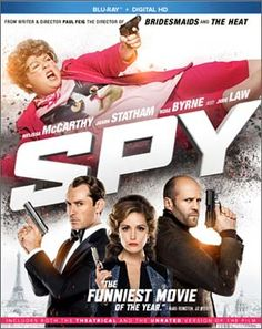 Spy Blu-ray Giveaway  http://daddyforever.com/2015/09/10/melissa-mccarthy/#comment-225596