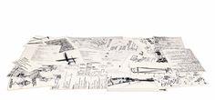 NEWS2016 APPUNTI by Mogg / Design by Design Studio14, 2016 Tappeto stampato. Printed carpet.  #mogg #moggdesign #Appunti #Studio14 #carpet #tappeto #Interior #Design #InteriorDesign #ItalianFurniture #Italian #Furniture #SaloneDelMobile #iSaloni #SalonedDelMobile2016