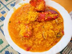 arroz con bogavante Easy Smoothie Recipes, Easy Smoothies, Good Healthy Recipes, Healthy Snacks, Snack Recipes, Coconut Recipes, Water Recipes, Ice Cream Recipes, Pumpkin Spice