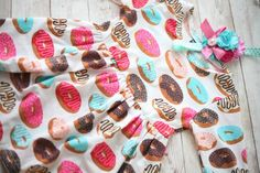 donut theme cake smash baby dress and headband set for sitters first birthday party from birdie baby boutique