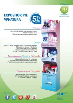EXPOSITOR DE PIE VP NATURA