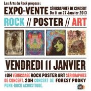 Rock Poster Art // 11-27 janvier 2013 - La Bellevilloise