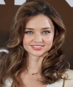 It's Miranda Kerr!    The model got her big break in 2007 as the first Australian to to be a Victoria's Secret Angel. She and actor husband Orlando Bloom are parents to a toddler named Flynn.