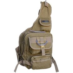 Eurosport Urban Style Canvas Sling Backpack B411 Khaki * This is an Amazon Affiliate link. Click on the image for additional details.