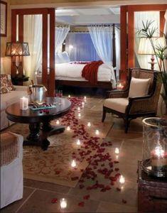 22 Romantic Resorts in Florida - Little Palm Island Resort & Spa, Lower Torch Key Romantic Night, Romantic Things, Bedroom Romantic, Romantic Ideas, Romantic Candles, Wedding Bedroom, Romantic Surprise, Romantic Roses, Romantic Places