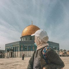 Muslim Pictures, Sad Pictures, Beautiful Pictures, Skirt Fashion, Hijab Fashion, Palestine Art, Dome Of The Rock, Beautiful Mosques, Profile Picture For Girls