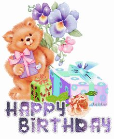 happy birthday moving images | To share on facebook, orkut, Myspace or to email your friends copy ...