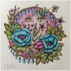 •••••••••••••••••••••••••••••••• #ausmalen #ausmalenfürerwachsene #ausmalbuch #polychromos #fabercastell #kolorieren #koloration #coloring #coloration #coloringforadults #coloringbook #nofilter #blomstermandala #blomstermandalacoloringbook #done