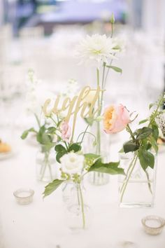Sweet calligraphy table numbers: http://www.stylemepretty.com/destination-weddings/2015/10/05/whimsical-summer-prague-wedding/ | Photography: Stepan Vrzala - http://www.stepanvrzala%2Ccom/