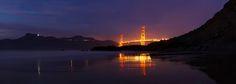 Golden Gate Bridge in San Francisco photographed by Simon Christen