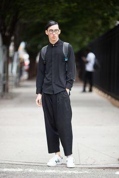 ストリートスナップニューヨーク - Qing he zhaoさん