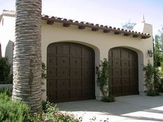 Simple garage door design.
