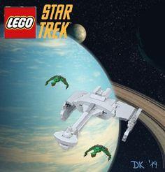 Lego Star Trek, Star Trek Tv, Star Trek Series, Trek Ideas, Lego Projects, Lego Creations, Legos, Ships, Geek