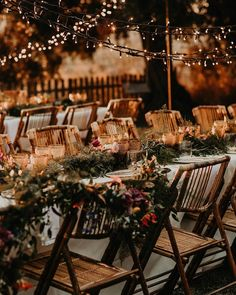 Just incase anyone's told you 'the chairs don't matter' recently. 😍These folding bamboo chairs elevate this set up beyond beautiful 🌿✨… Square Wedding Tables, Wedding Chairs, Ceremony Seating, Wedding Seating, Tent Wedding, Wedding Bells, Dream Wedding, Wedding Table Planner, Night Time Wedding