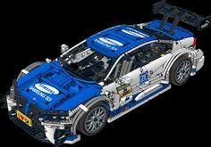 LEGO MOC-4339 BMW M4 DTM - Samsung (Technic 2016) | Rebrickable ...
