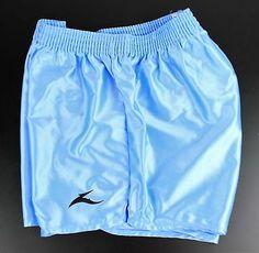 4XL,Purple Retro Nylon Satin Football Shorts S Green
