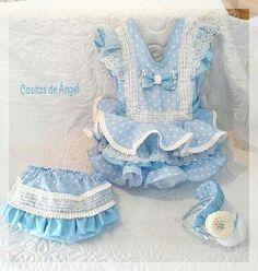 para mi niña Dog Dresses, Girls Dresses, Pet Clothes, Baby Sewing, Beautiful Babies, Baby Dress, Kids Outfits, Children, Women