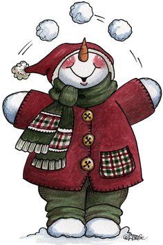 Snowman ❄️ Let it Snow - Carla Simons - Picasa Web Albums Clipart Noel, Snowman Clipart, Christmas Clipart, Christmas Printables, Christmas Pictures, Christmas Snowman, Winter Christmas, Vintage Christmas, Snowman Printables