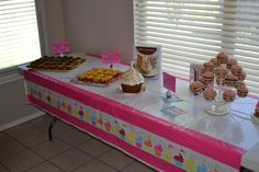 Cupcake Themed Birthday Party