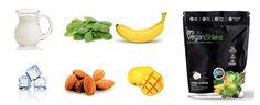 Vegan Banana Green Mango Tango