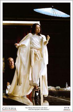 Zhang Ziyi:  Memoirs of a Geisha