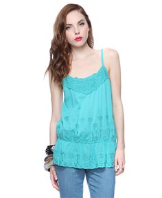 Sweet Embroidery Top $6.99