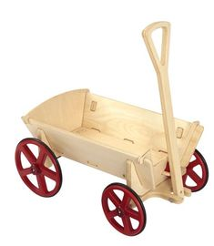 Buy Moover Prairie Wagon - Natural at Mighty Ape Australia. Nostalgia and history come alive at full gallop! Nostalgia and history are alive and at full gallop with your Moover Prairie Wagon. Wooden Cart, Wooden Wagon, Wooden Diy, Wooden Ride On Toys, Wood Toys, Kids Woodworking Projects, Wood Projects, Woodworking Bench, Toy Wagon