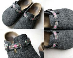 ribbon on Birkenstocks