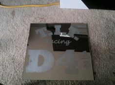 Demolition Derby team and number~personalized demolition derby mirrors...