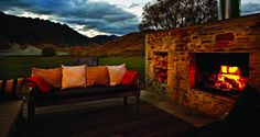 Comfort on a summers evening after the activities of the day Luxury Tents, Luxury Yachts, Do What You Want, Summer Evening, Tent Camping, Lodges, New Zealand, Island