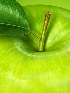 Green Apple for the fourth chakra.