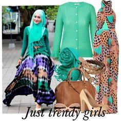 Hijab street style looks   Just Trendy Girls