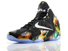 """Nike LeBron 11 """"Everglades"""" http://www.equniu.com/2014/04/30/nike-lebron-11-everglades/"""