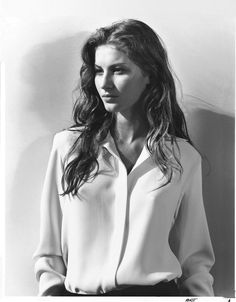Gisele wears Ralph Lauren Collection in 1998. Photo by Bruce Weber.