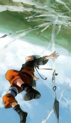 flying kunai #naruto