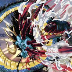 One Piece Luffy, One Piece Anime, Kaido Vs Luffy, Otaku Anime, Anime Art, One Piece World, 0ne Piece, One Piece Images, Monkey D Luffy