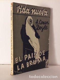 Conan Doyle : El país de la bruma. (Col Vida Nueva nº 12, 1933) Cubierta a color de Mauricio Amster - Foto 1