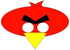 Máscaras de Angry Birds y Gorros para Imprimir Gratis.