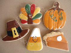 Thanksgiving/ Halloween Cookies