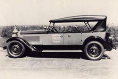 1925-26, 2-43, Packard Police Car.