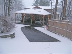 America's Coolest Driveways - Forbes.com | Heated Driveway With Snow And Ice-Melting Technology, New York