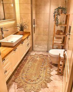 Love this black media console with caned doors Home Design Decor, Diy Home Decor, House Design, Interior Design, Elegant Homes, Clawfoot Bathtub, Small Bathroom, Boho Bathroom, Modern Bathroom