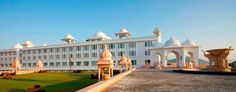 A glorious sunny day with a sweet chill of winter in it... Enjoy sunshine at Radisson Blu Udaipur Palace Resort & Spa!