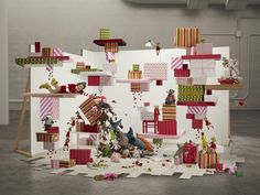 IKEA Xmas Tales by Paloma Rincón, via Behance