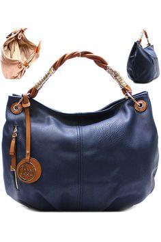 Navy Fall handbag