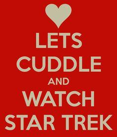 Star Trek Cuddle