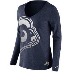 NFL Jerseys NFL - women's los angeles rams chris long nike navy game jersey
