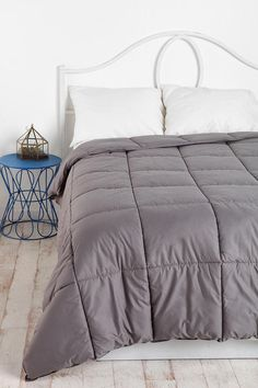 """Pair up this baddie with formerly pinned couch and you get:sleep4days.  """"Quilted Comforter"""""""